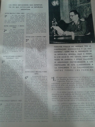 libro el hogar año 1947 del gobierno del gral peron