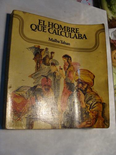 libro el hombre que calculaba , malba tahan , 225 paginas