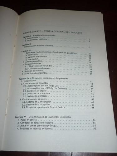 libro el impuesto de sellos - temas tributarios - soler 1988