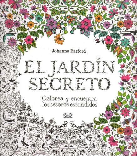 libro: el jardín secreto (johanna basford)