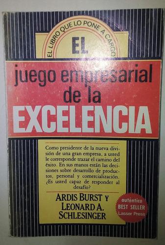 libro el juego empresarial de la excelencia