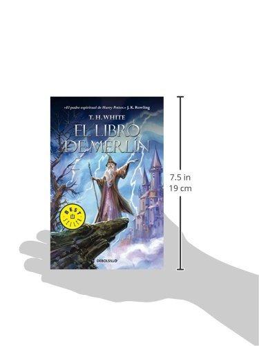 libro el libro de merlín - nuevo