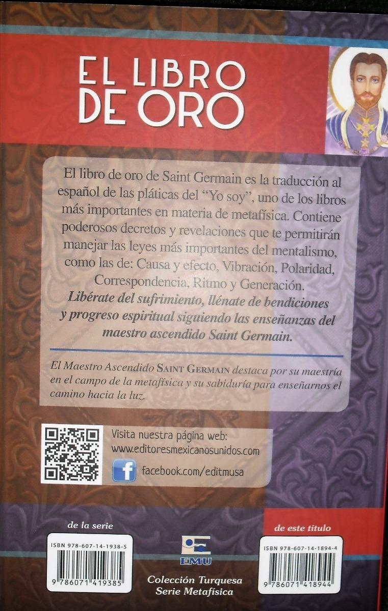 Libro El Libro De Oro Saint Germain 6900 En Mercado Libre