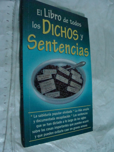 libro el libro de todos los dichos y sentencias , 95 paginas