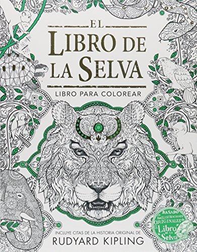 Libro El Libro Para Colorear De El Libro De La Selva - $ 540.00 en ...
