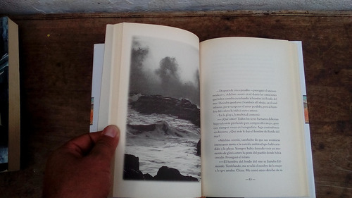 libro el mar inclinado de ramon battaglia tapa dura
