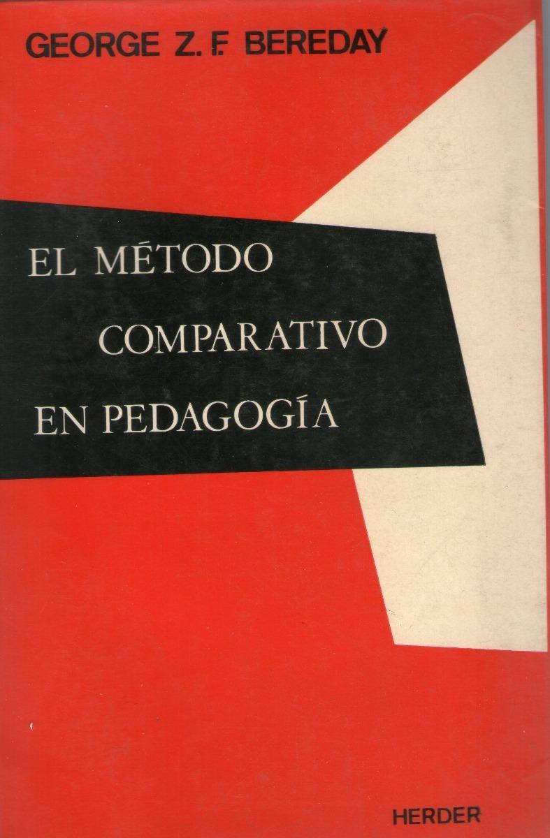 Resultado de imagen de el metodo comparativo en pedagogia