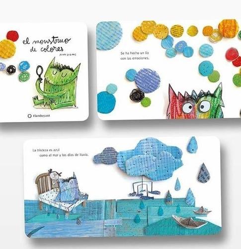 libro: el monstruo de colores (cartone) - anna llenas