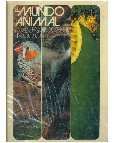 libro, el mundo animal gran enciclopedia a color.