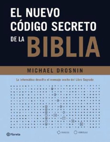 libro, el nuevo código de la biblia de michael drosnin.