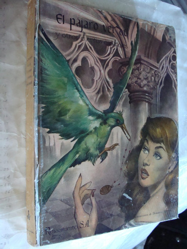 libro el pajaro verde y otros cuentos españoles , editorial