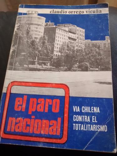 libro el paro nacional - claudio orrego (929