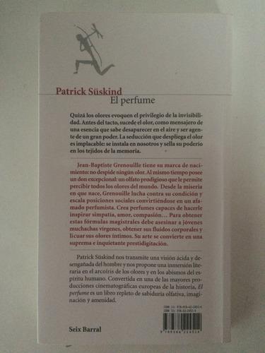 libro el perfume (historia de un asesino) - patrick süskind