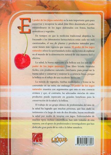 libro el poder de los jugos naturales 1 tomo