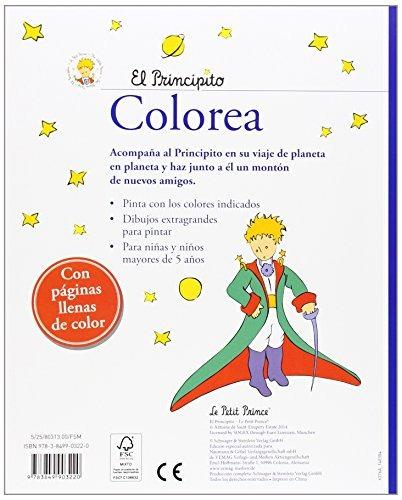Libro El Principito. Colorea: Con Páginas Llenas De Color - $ 440.00 ...