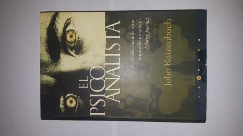libro el psicoanalista original por john katzenbach