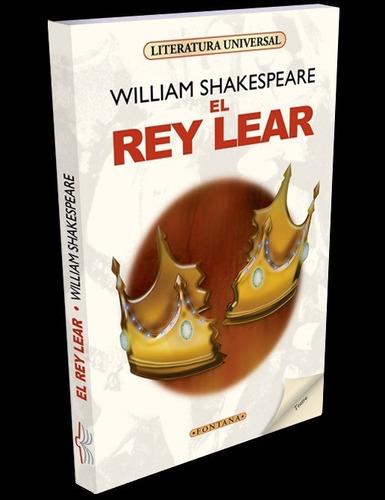 libro. el rey lear. william shakespeare. clásicos fontana
