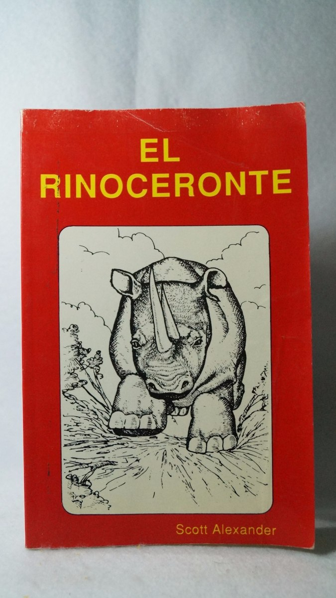 Libro el rinoceronte scott alexander cargando zoom