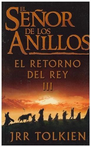 libro, el señor de los anillos el retorno del rey i i i.
