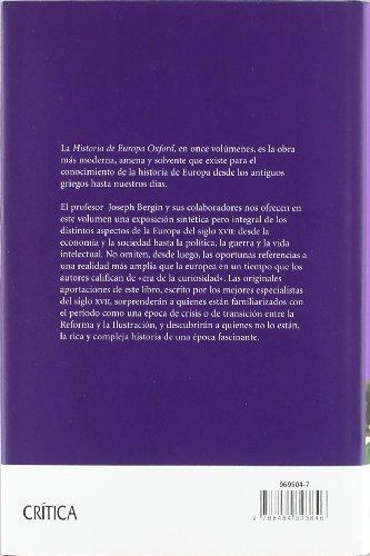 libro el siglo xvii: europa, 1598-1715 - nuevo