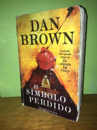 libro, el símbolo perdido - dan brown.