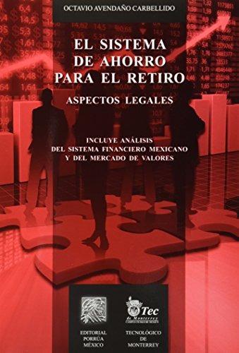 libro el sistema de ahorro para el retiro aspectos legales