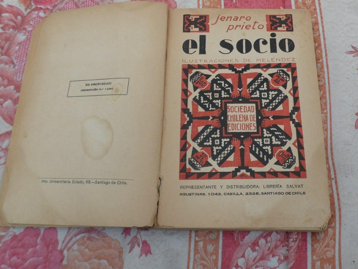Libro El Socio Jenaro Prieto Ebook