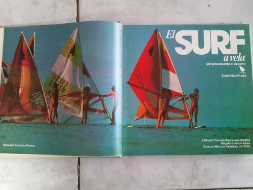 libro el surf a vela ernstfried prade pasta dura ed 1982