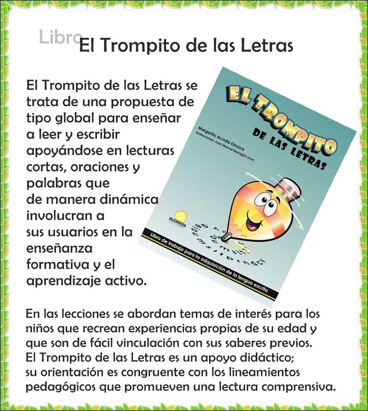 Libro El Trompito De Las Letras Con Envío Incluido - $ 249.00 en ...