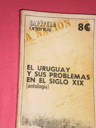 libro: el uruguay y sus problemas en el s.xix (antología)