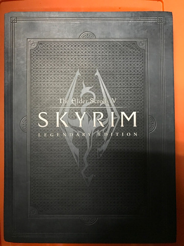 libro: elder scrolls 5: skyrim legendary edition (en ingles)