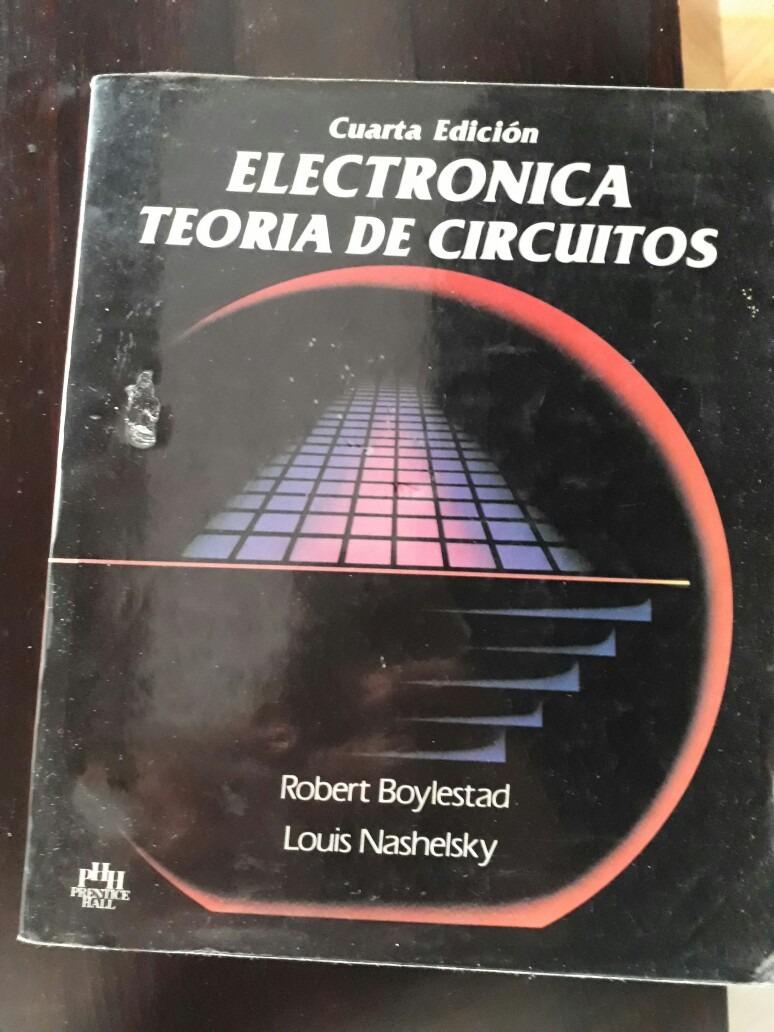 Libro Electronica Teoria De Circuitos 45000 En Mercado Libre Miscelaneos Cargando Zoom