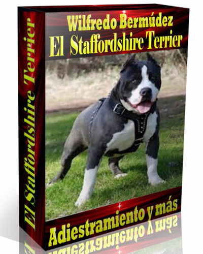 libro electrónico el american staffordshire terrier .