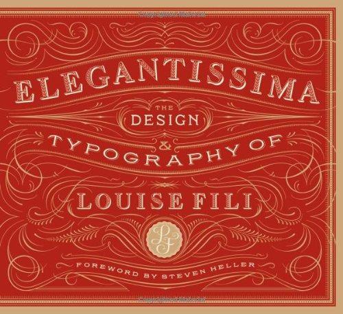 libro elegantissima: the design & typography of louise fili