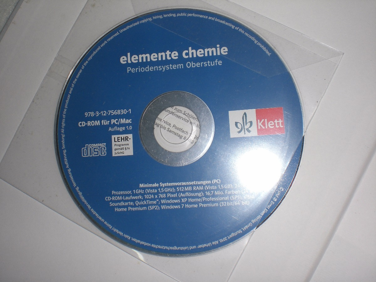 Schülerbuch Klasse 11//12 Allgemeine Ausgabe Elemente Chemie 2 Buch G8