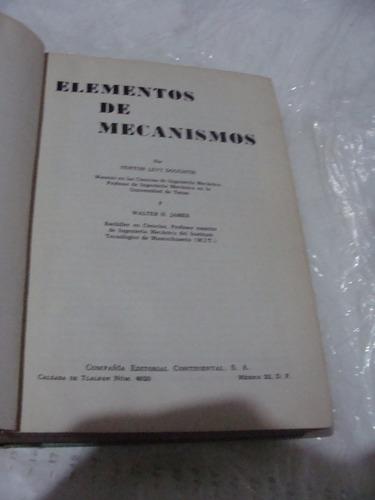 libro elementos de mecanismos , tere ponce , 538 paginas , a