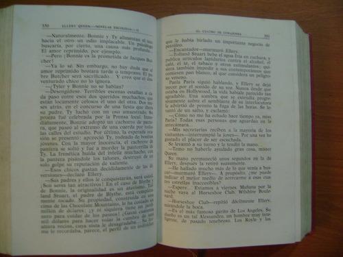 libro ellery queen   novelas  escogidas aguilar