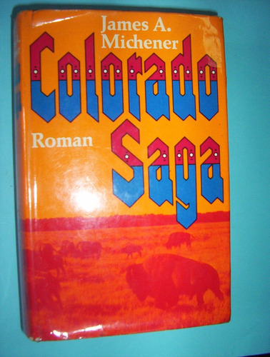 libro en aleman - james a. michener -colorado saga --roman