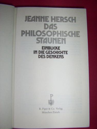 libro en aleman -jeanne hersch- estado muy bueno