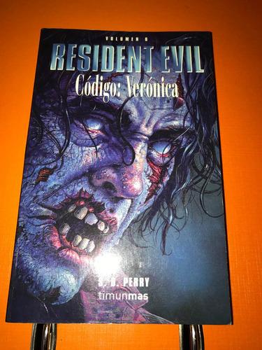 libro en español resident evil codigo veronica