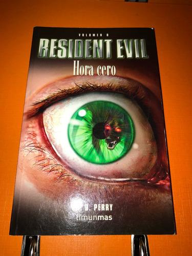 libro en español resident evil hora 0