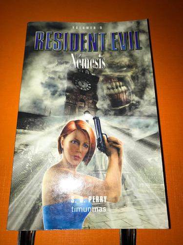 libro en español resident evil nemesis