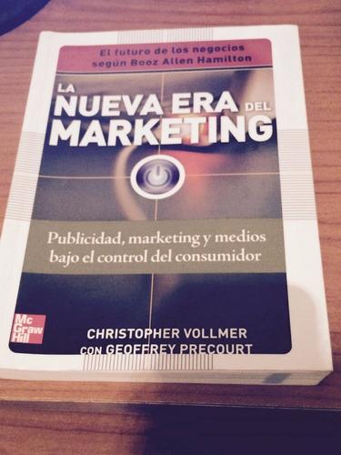 libro en físico  la nueva era del marketing . nuevo