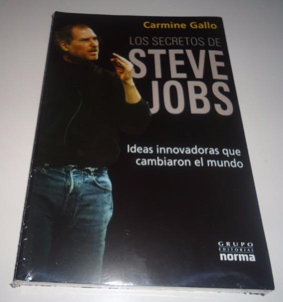 3051c8fc2f5 Libro En Fisico Los Secretos De Steve Jobs Por Carmine Gallo - Bs ...