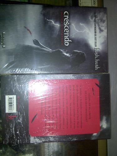 libro en físico silencio hush sellado por becca fitzpatrick