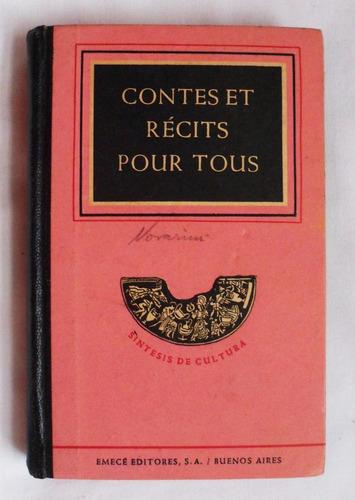 libro en francés: contes et recits pour tous / a. maudet