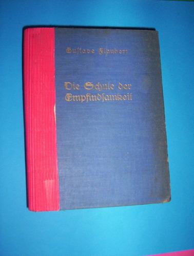 libro en idioma aleman del año 1834- b.flaubert-detalle