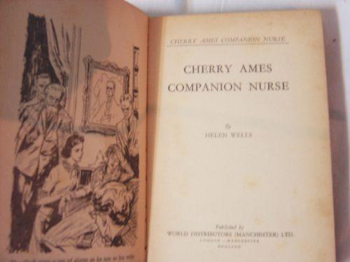 libro en ingles: cherry ames companion nurse / helen wells
