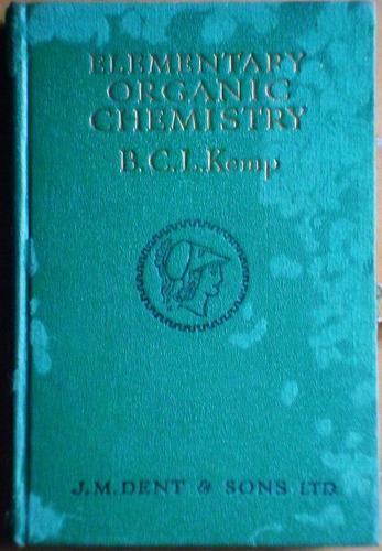 libro en inglés: elementary organic chemistry / kemp