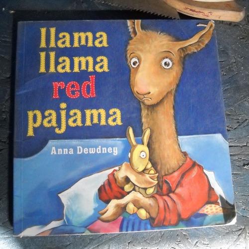 libro en ingles llama llama red pajama, anna dewdney, ed. vi